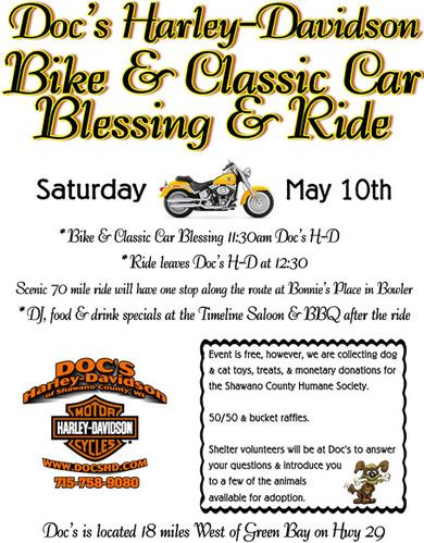Doc's Harley Davidson Used Bikes bikeblessing w
